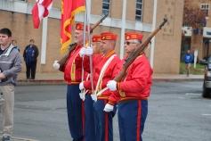 Veterans Day Program, Flag Pole, Tamaqua Area High School, Tamaqua, 11-11-2015 (28)