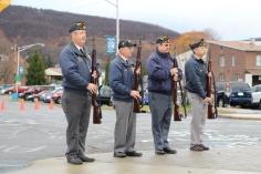 Veterans Day Program, Flag Pole, Tamaqua Area High School, Tamaqua, 11-11-2015 (49)