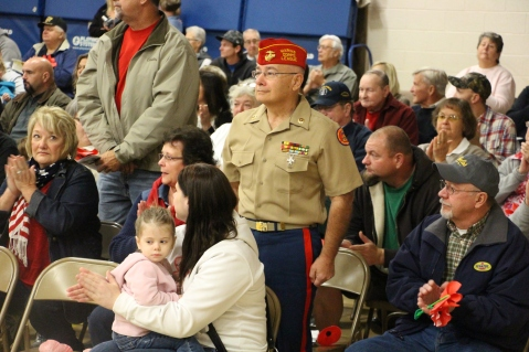 Veterans Day Program, Tamaqua Area Elementary School, Tamaqua, 11-11-2015 (112)