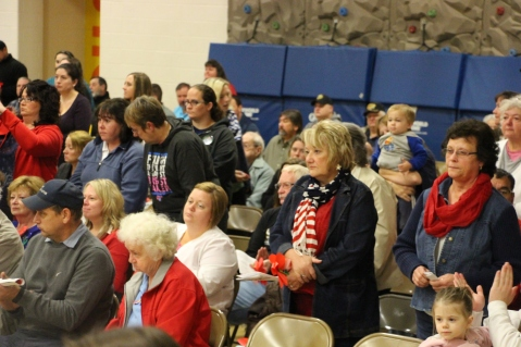 Veterans Day Program, Tamaqua Area Elementary School, Tamaqua, 11-11-2015 (157)