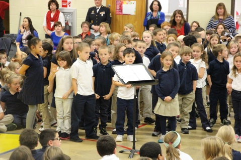 Veterans Day Program, Tamaqua Area Elementary School, Tamaqua, 11-11-2015 (197)