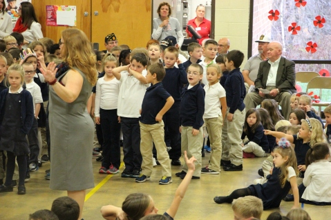 Veterans Day Program, Tamaqua Area Elementary School, Tamaqua, 11-11-2015 (200)