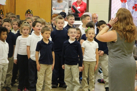 Veterans Day Program, Tamaqua Area Elementary School, Tamaqua, 11-11-2015 (208)