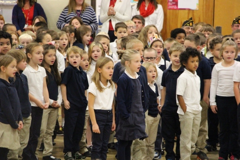 Veterans Day Program, Tamaqua Area Elementary School, Tamaqua, 11-11-2015 (211)