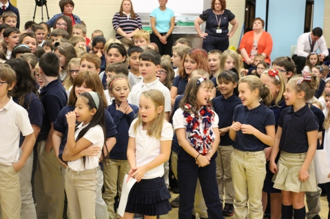 Veterans Day Program, Tamaqua Area Elementary School, Tamaqua, 11-11-2015 (238)