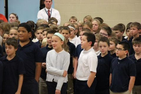 Veterans Day Program, Tamaqua Area Elementary School, Tamaqua, 11-11-2015 (267)