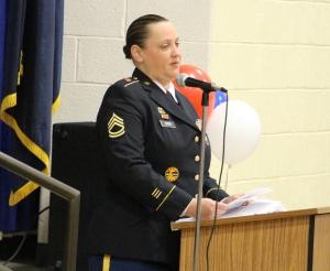 Guest speaker was SFC Amanda Kerr.
