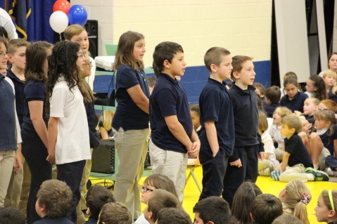 Veterans Day Program, Tamaqua Area Elementary School, Tamaqua, 11-11-2015 (345)