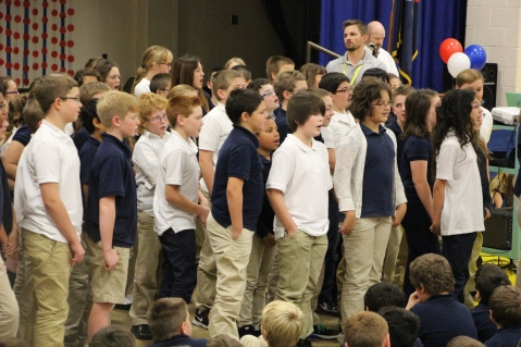 Veterans Day Program, Tamaqua Area Elementary School, Tamaqua, 11-11-2015 (353)