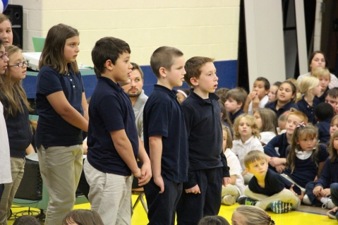 Veterans Day Program, Tamaqua Area Elementary School, Tamaqua, 11-11-2015 (359)