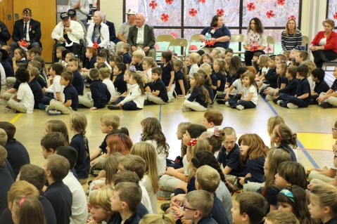 Veterans Day Program, Tamaqua Area Elementary School, Tamaqua, 11-11-2015 (37)