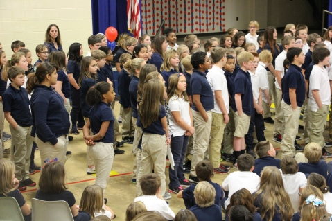 Veterans Day Program, Tamaqua Area Elementary School, Tamaqua, 11-11-2015 (373)