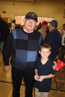 Veterans Day Program, Tamaqua Area Elementary School, Tamaqua, 11-11-2015 (413)