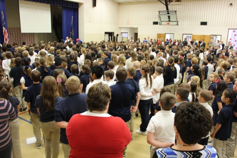 Veterans Day Program, Tamaqua Area Elementary School, Tamaqua, 11-11-2015 (50)