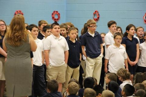 Veterans Day Program, TASD, West Penn Elementary School, West Penn, 11-12-2015 (200)