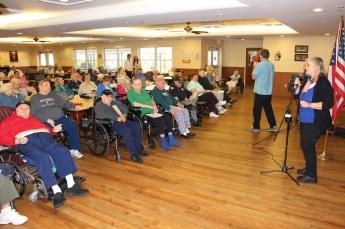 Veterans Program, Hometown Nursing and Rehabilitation Center, Hometown, 11-9-2015 (2)