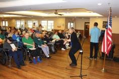 Veterans Program, Hometown Nursing and Rehabilitation Center, Hometown, 11-9-2015 (4)