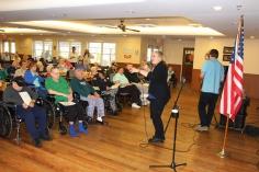 Veterans Program, Hometown Nursing and Rehabilitation Center, Hometown, 11-9-2015 (5)