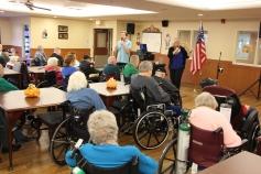 Veterans Program, Hometown Nursing and Rehabilitation Center, Hometown, 11-9-2015 (7)