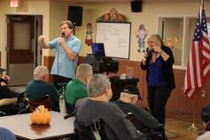 Veterans Program, Hometown Nursing and Rehabilitation Center, Hometown, 11-9-2015 (8)