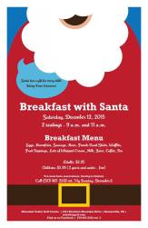 12-12-2015, Breakfast With Santa, Mountain Valley Golf Course, Barnesville