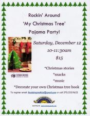 12-12-2015, Rockin' Around My Christmas Tree Pajama Party, Tamaqua Community Arts Center, Tamaqua
