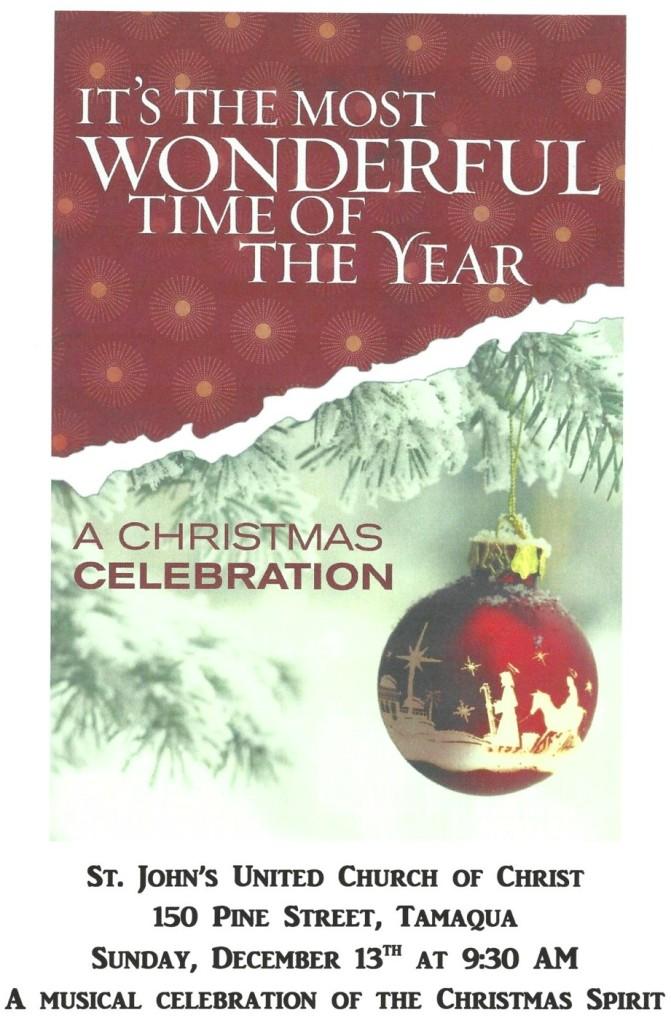 12-13-2015, Christmas Cantata, St John's United Church of Christ, Tamaqua