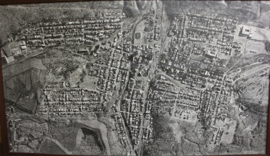 Aerial Photograph of Tamaqua, Borough Hall, Tamaqua, 1970s (109)