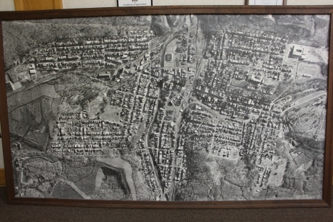 Aerial Photograph of Tamaqua, Borough Hall, Tamaqua, 1970s (38) - Copy