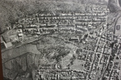 Aerial Photograph of Tamaqua, Borough Hall, Tamaqua, 1970s (42)