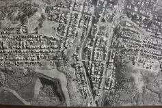 Aerial Photograph of Tamaqua, Borough Hall, Tamaqua, 1970s (52)
