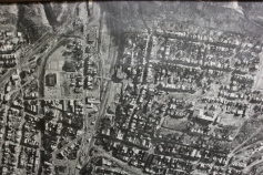 Aerial Photograph of Tamaqua, Borough Hall, Tamaqua, 1970s (54)