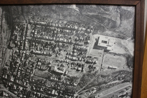 Aerial Photograph of Tamaqua, Borough Hall, Tamaqua, 1970s (61)