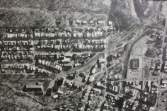 Aerial Photograph of Tamaqua, Borough Hall, Tamaqua, 1970s (71)