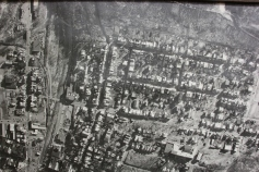 Aerial Photograph of Tamaqua, Borough Hall, Tamaqua, 1970s (75)