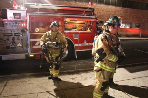 Apartment Building Fire, 45 West Broad Street, Tamaqua, 12-19-2015 (201)