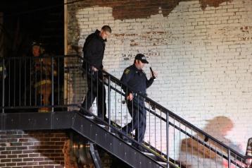 Apartment Building Fire, 45 West Broad Street, Tamaqua, 12-19-2015 (212)