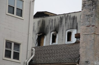 Apartment Building Fire, 45 West Broad Street, Tamaqua, 12-19-2015 (400)