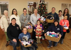 Bethany ECC in Tamaqua Collects, Distributes Socks, Hometown Nursing and Rehab Center, Ho (1)