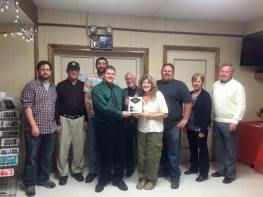 Black Diamond Award, Lansford Alive, submitted, at American Legion, Lansford, 12-11-2015 (11)
