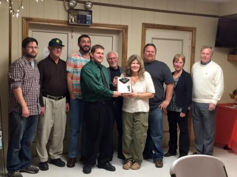 Black Diamond Award, Lansford Alive, submitted, at American Legion, Lansford, 12-11-2015 (22)