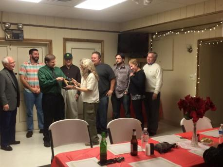 Black Diamond Award, Lansford Alive, submitted, at American Legion, Lansford, 12-11-2015 (7)