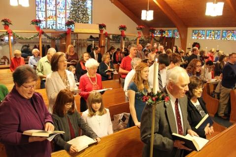 Christmas Cantata, St. John's United Church of Christ, Tamaqua, 12-13-2015 (1)