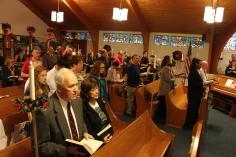 Christmas Cantata, St. John's United Church of Christ, Tamaqua, 12-13-2015 (2)