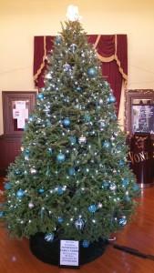 Christmas Tree, Tamaqua Train Station, Tamaqua, 12-10-2015 (2)