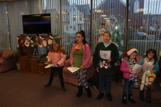 Community Members, Volunteers with Tamaqua Community Arts Center Sing Carols, Tamaqua (10)