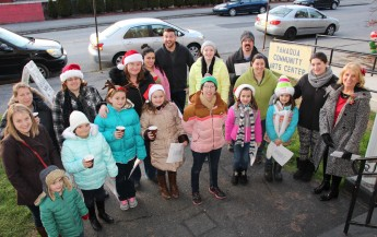 Community Members, Volunteers with Tamaqua Community Arts Center Sing Carols, Tamaqua (2)