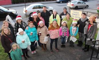 Community Members, Volunteers with Tamaqua Community Arts Center Sing Carols, Tamaqua (2)