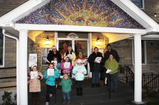 Community Members, Volunteers with Tamaqua Community Arts Center Sing Carols, Tamaqua (22)