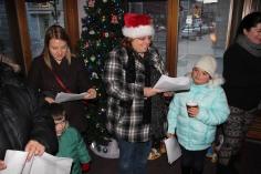Community Members, Volunteers with Tamaqua Community Arts Center Sing Carols, Tamaqua (6)